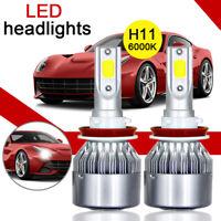 2x LED HAUPTSCHEINWERFER LAMPEN H11 HEADLIGHT BIRNE passt für SUZUKI VITARA LY