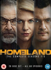 HOMELAND - COMPLETE SEASON SERIES 1 - 5 - NEW DVD