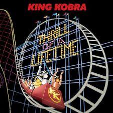 KING KOBRA - THRILL OF A LIFETIME - CD SIGILLATO 2016