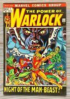 The Power Of Warlock 1. 1972. Marvel Comics. Nice Copy.