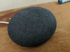 Google Nest Mini (2nd Generation) Smart Speaker - Charcoal New & Sealed