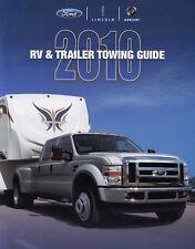 FORD RV TRAILER Towing Guide SUV 4x4 Camper Prospekt Brochure USA 2010 75
