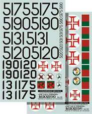 Colorado Decals 1/32 F-84 Thunderjet Portugal 4 versions # 32013