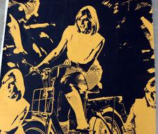 More details for stunning original vintage 1960s poster honda 50 moped swinging sixties pop-art