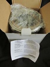 New Crate & Barrel Stainless Steel Flame-Heated Cheese/Chocolate Fondue Pot Set
