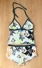 Lepel Ladies Tankini 16 A B Shorts 2 Piece BNWOT New Holiday Halterneck Beach