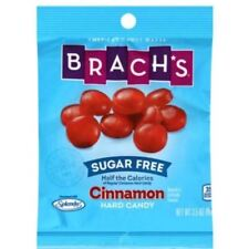 Brachs Sugar Free Cinnamon Hard Candy Travel Ind Wrapped CLEAROUT