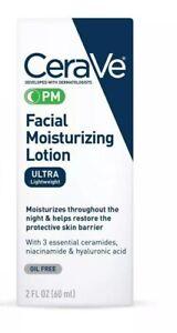 CeraVe PM Moisturizing Night Lotion Face Moisturizer 2 Fl. Oz. Sale