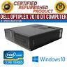 Dell OptiPlex 7010 DT Intel i5 8GB RAM 500GB HDD Win 10 USB VGA B Grade Desktop