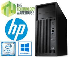 HP Z230 Workstation PC - Intel i7 Quad Core CPU + SSD + HDD + Windows 10 Pro 64