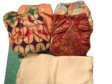 New ListingSmart Bottoms Born Smart Cloth Diapers Newborn Lot Of 4