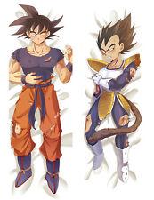 "59"" Anime Dragon Ball Dakimakura Son Goku Dakimakura Pillow Case Hugging Body"