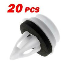 20 White Door Trim Panel Headlining Clip+Seal Ring for BMW 335is Fastener Clip