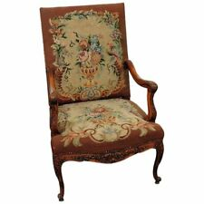 Louis Xv Style Needlepoint Chair