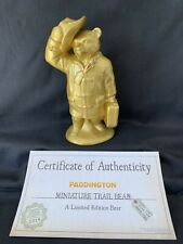More details for rare wade paddington trail bear - goldie by kate moss + certificate (ltd ed)