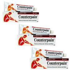 3X Counterpain Balm Pain Relief Arthritis Rheumatic Analgesic 120g Ache