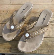 Womens Size 10 LINDSAY PHILLIPS SwitchFlops FLIP-FLOPS CORK Wedge Heels SANDALS