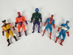 1984 Mattel Marvel Secret Wars Figures Lot of 5 Vintage