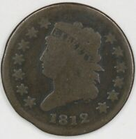 1812 Classic Head Large Cent. Small Date. RAW4359/CH