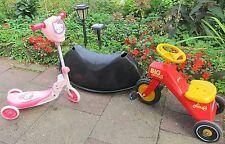 DREI : BIG-Trike 56800 ,Hello Kitty 3-Rad Scooter - Dreirad,IKEA Schaukel-BANANE