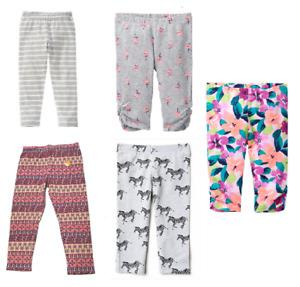 New Little Girls Gymboree Capri Leggings SIZE 12-18M,18-24M,S,M,L,XL MSRP:$14.95
