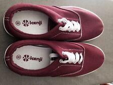 Kenji Size 8 Burgundy Boys/Mens