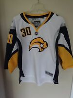 Vintage RBK NHL Buffalo Sabres Ryan Miller # 30 Premium Hockey Jersey Youth L/XL