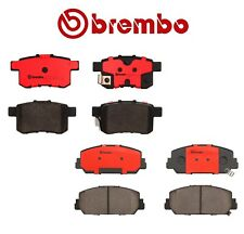 For Honda Accord 2016-2017 Set of Front and Rear Ceramic Disc Brake Pads Brembo