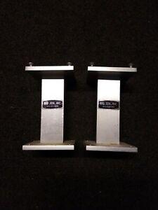 2 Big Jon 6 Inch Pedestal bases