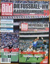 DVD WM Klassiker 29 Viertelfinale 1986 Argentinien England 2:1 mit Beiheft