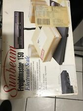 Sunbeam Freightmaster 150 Electronic Shipping Scale 150lbs Capacity Model:78622-