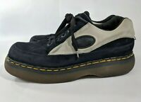 Dr Martens Mens Suede Creepers Doc England Black Gray Size 10 UK, 11 US - 8363