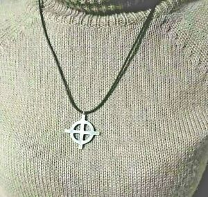 Croce Celtica Croce Celtic cross ciondolo in argento 925 sterling silver 35mm