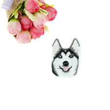 1pc Husky Dog Embroidery Sew Iron On Patch Badge Clothes Applique AccessoriesUO