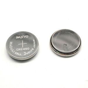 SANYO CR2450 bare battery 3V button sensor device remote control 3PCS