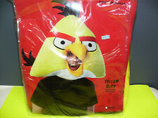 ANGRY BIRDS YELLOW BIRD MASK UNISEX HALLOWEEN COSTUME ONE SIZE FITS ALL