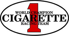 """#755 (2) 2"""" Cigarette Boat Racing Sticker Decal Racing Team Laminated"""