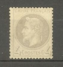 """FRANCE STAMP TIMBRE N° 27 """" NAPOLEON III 4c GRIS """" NEUF xx TB"""
