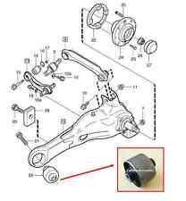 FOR VOLVO S40 V40 1x REAR LOWER BEAM TRAILING SUSPENSION ARM SUBFRAME BUSH 96-04