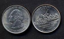USA New Jersey quarter 1999 P A/UNC