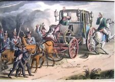 ENGRAVINGS NAPOLEON ACKERMANS CAPTURE OF CARRIAGE 1815