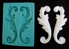 Silicone Mould SHABBY CHIC ORNAMENTS WINGS Fondant / fimo mold