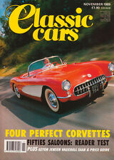 Classic Cars Nov 1989 - Corvette, Monterey & Pebble Beach, Vauxhall HP Firenza