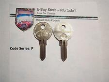 Key Blanks for Vintage Peugeot - Simca - and Citroen Automobiles LR63G / SM2