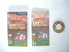 FAT PRINCESS FISTFUL OF CAKE complete in box with manual Sony PSP game
