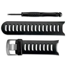 Garmin Forerunner 610 Watch Replacement Band / Strap Kit BLACK (010-11251-05)
