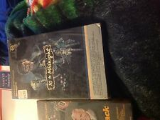2 Empty VHS Cases Missing In Action 3 Braddock Chuck Norris + 10 to Midnight