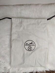 Authentic Brand New HERMES Dustbag Drawstring 35*19.5cm Fits Medor clutch bag