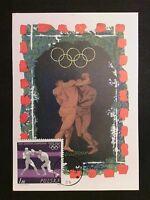 POLEN MK 1964 OLYMPIA BOXEN BOXING MAXIMUMKARTE CARTE MAXIMUM CARD MC CM c8309