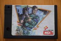 MSX 2 Metal Gear KONAMI Cartridge Video Game Soft Japan Good Condition JP
